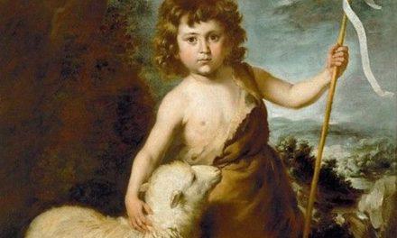 24 de junio: Natividad San Juan Bautista